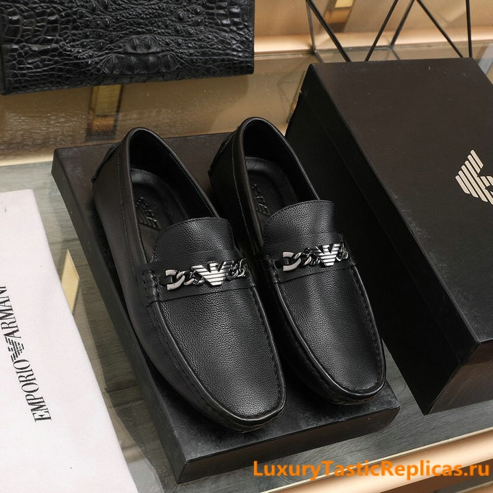 20.Armani comfortable all match peas shoes flat shoes mens shoes 1
