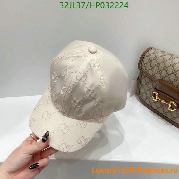 Gucci 2 black and white two-color summer and autumn fashion men's women's baseball cap bonding hat hip-hop adjustable cool sun hat men's and women's hats (4)